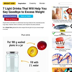 7 Light Drinks That Will Help You Say Goodbye to Excess Weight