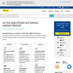 UK Tea and Other Hot Drinks Industry Report (Updated 2018)