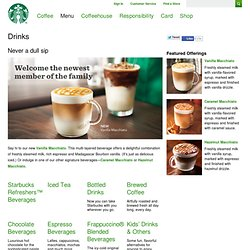 Starbucks Signature Drink Builder | Starbucks