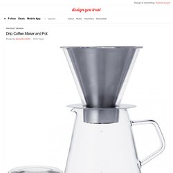 Drip Coffee Maker and Pot