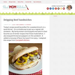 Dripping Beef Sandwiches