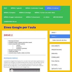 drive 2 - Página web de einesgoogle
