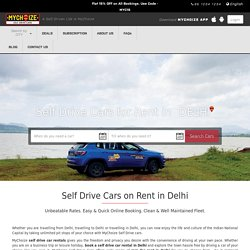 Self Drive Car Rental in Delhi/NCR, Noida, Gurgaon