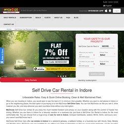 Self-drive car rental in Indore