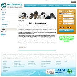 Auto Driveaway Company - Washington, D.C