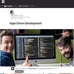 Hype Driven Development – DaftCode Blog
