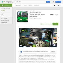 Bus Driver 3D – Applications Android sur Google Play