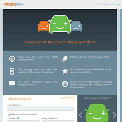 ChargePoint - Driver Sign up