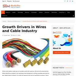 Know About Growth Drivers in Wires and Cable Industry