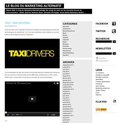 TED / Taxi Drivers | Marketing Alternatif