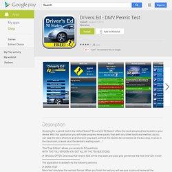 Drivers Ed - DMV Permit Test