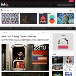 New York Subway Drivers Portraits