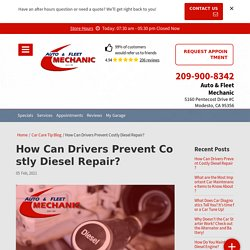 Do you know how Can Drivers Prevent Costly Diesel Repair?