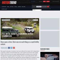 Four-Wheel Drives - Comparison - Motor Trend Classic