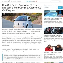 How Self-Driving Cars Work: The Nuts and Bolts BehindGoogle's Autonomous Car Program