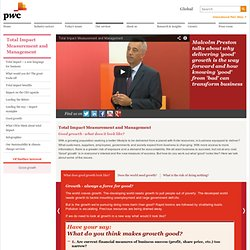 Good growth driving business for greater benefit: PwC
