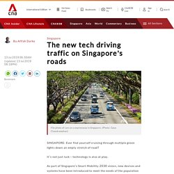 The new tech driving change on Singapore's roads