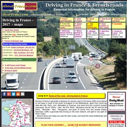 Driving in France - all you need to know