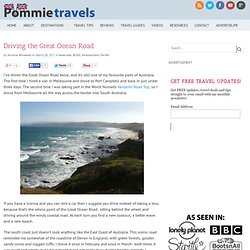 Driving the Great Ocean Road » Pommie Travels