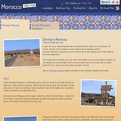 Morocco Travel Plan