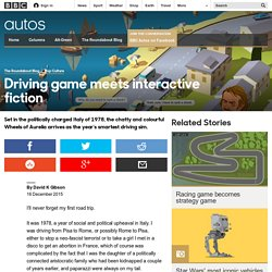 Autos - Driving game meets interactive fiction