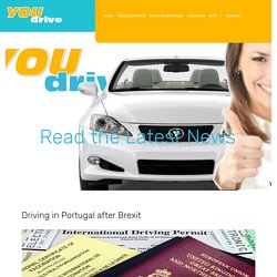 Driving in Portugal after Brexit