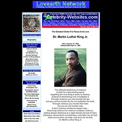 DrMartinLutherKingJr.com - Audios and Text of His Most Famous Speeches and Writings