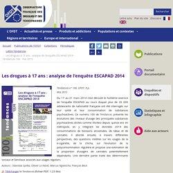 Les drogues à 17 ans : analyse de l'enquête ESCAPAD 2014 - Tendances 100 - mai 2015