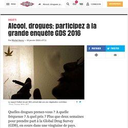 Alcool, drogues: participez à la grande enquête GDS 2016