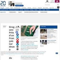 Drogues: Près d'un Français sur deux a déjà fumé du cannabis