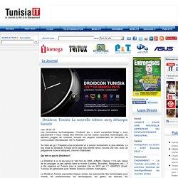 Droidcon Tunisia La nouvelle édition 2015 débarque bientôt