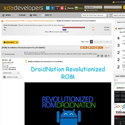 [ROM] DroidNation Revolutionized!
