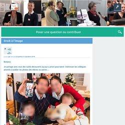 Droit à l'image - Questions/réponses - Académie Apprenante