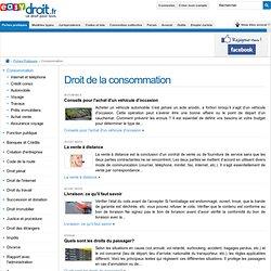 Droit de la consommation, Portail du droit de la consommation