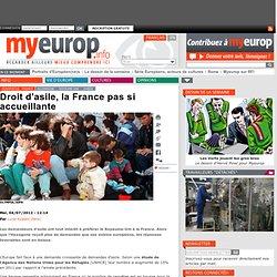 Droit d'asile, la France pas si accueillante