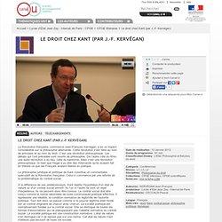 Le droit chez Kant - CPGE - Jean Zay