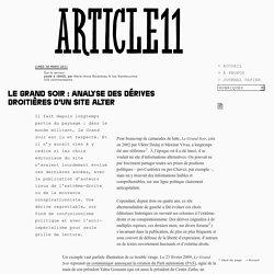 Le Grand soir : analyse des dérives droitières d'un site alter - Marie-Anne Boutoleau & Joe Rashkounine