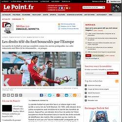 Les droits télé du foot bousculés par l'Europe
