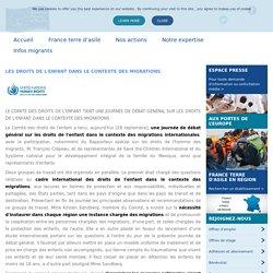 LES DROITS DE L'ENFANT DANS LE CONTEXTE DES MIGRATIONS - France terre d'asile
