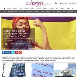 Droits des femmes : 2016, un bon cru ?