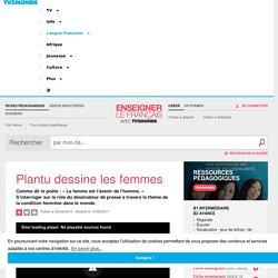 Droits des femmes et FLE - Les dessins de Plantu et les femmes en cours de français