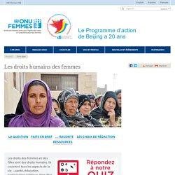 Gros plan .:. Les droits humains des femmes