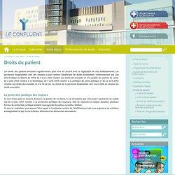 Accès et Conservation des Données Médicales - Droits des Patients - Nouvelles Cliniques Nantaises