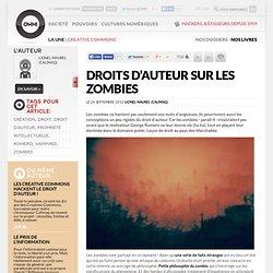 Droits d'auteur sur les zombies