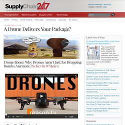 A Drone Delivers Your Package?