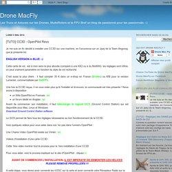 Drone MacFly: [TUTO] CC3D - OpenPilot Revo