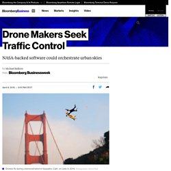 Drone Makers Seek Traffic Control