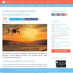 Un drone qui pirate les objets connectés depuis le ciel