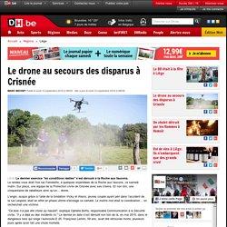 Le drone au secours des disparus à Crisnée