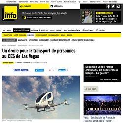 Un drone pour le transport de personnes au CES de Las Vegas